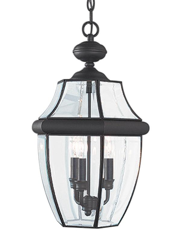black outdoor lantern lights wall mount 603912three light outdoor pendantblack