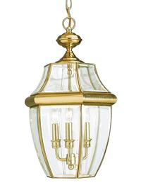 Lancaster Collection Three Light Outdoor Pendant 6039EN 02 MSRP 29568