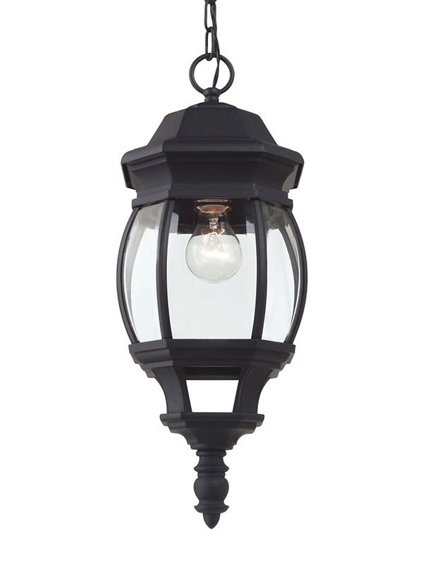60400 12one light outdoor pendantblack aloadofball Image collections