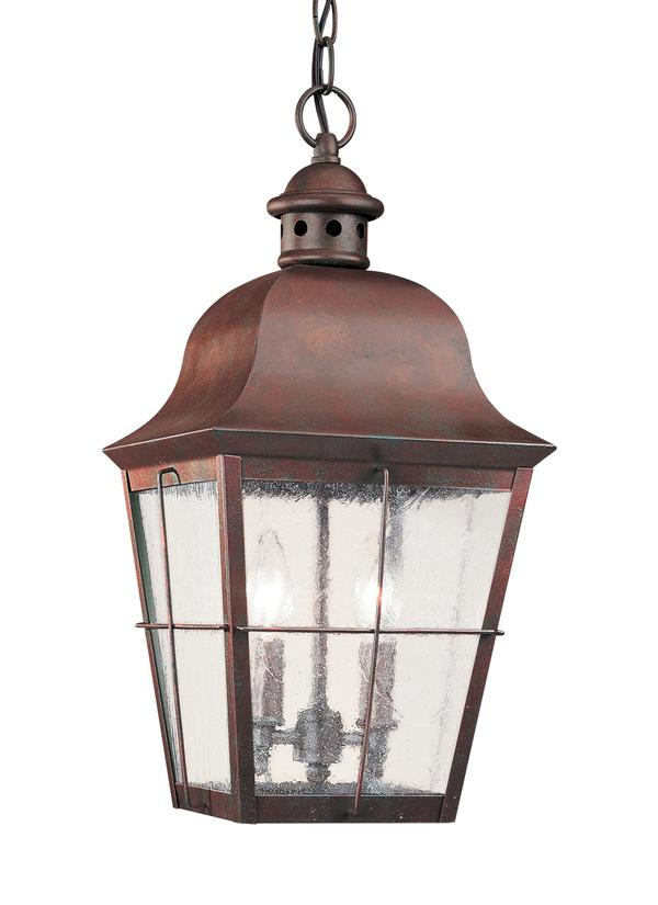 6062 44,two light outdoor pendant,weathered copper Can Light Wiring Diagram