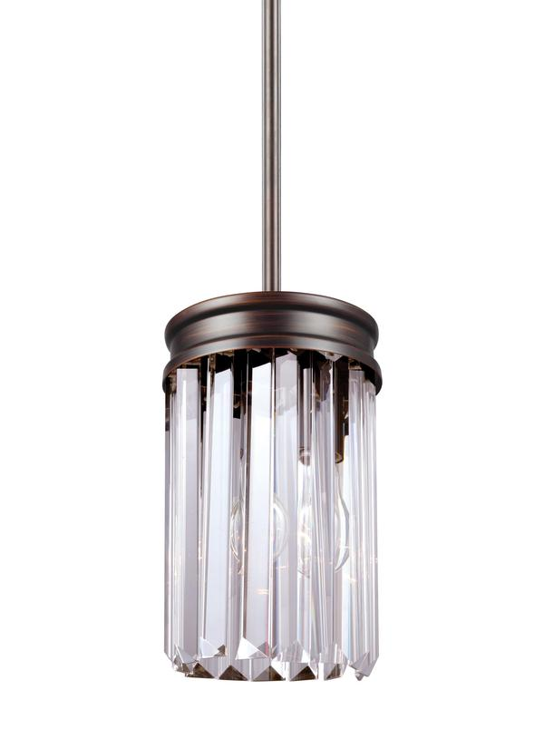 sc 1 st  Seagull Lighting & 6114001-710One Light Mini-PendantBurnt Sienna