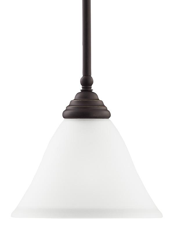 61575 782 One Light Mini Pendant Heirloom Bronze