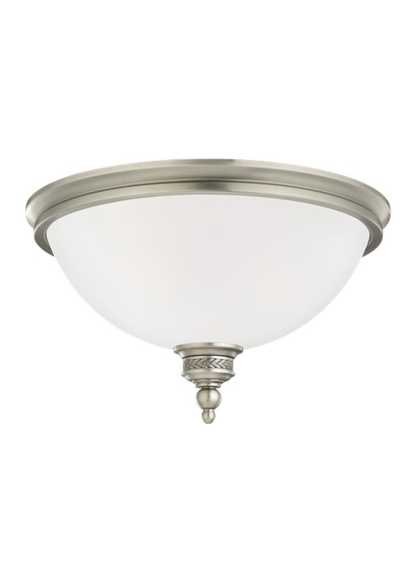 75350en 965 two light ceiling flush mount antique brushed nickel
