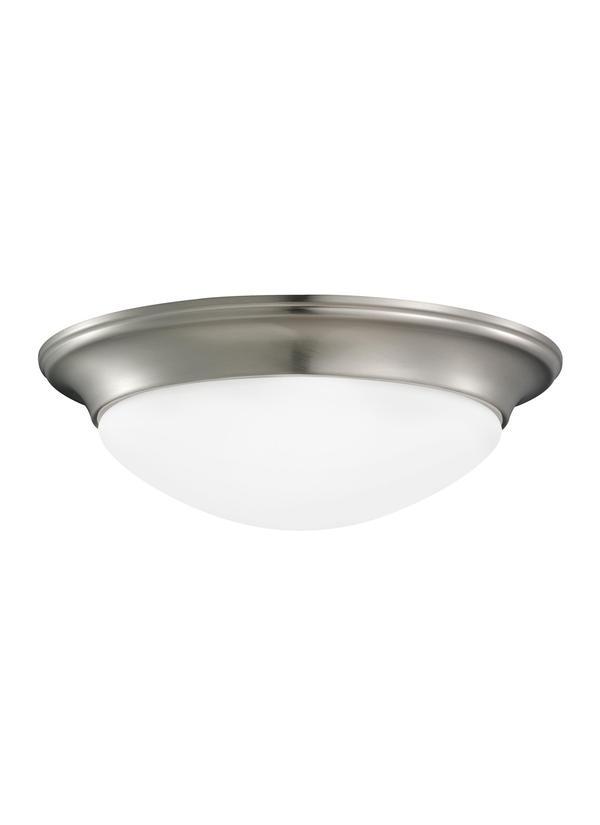 7543491S-962,Small LED Ceiling Flush Mount,Brushed Nickel