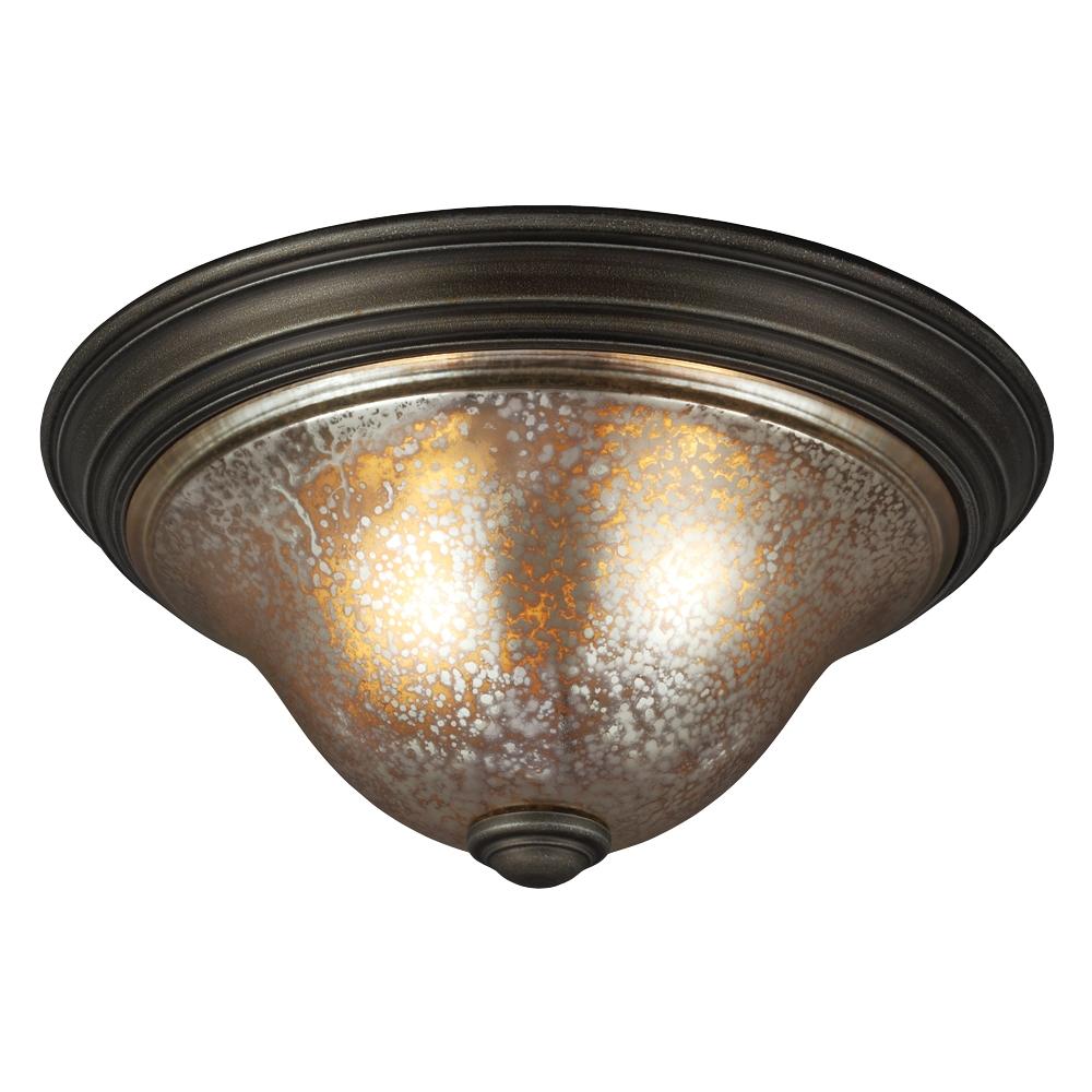 low priced fda81 1c084 7570402BLE-736,Two Light Ceiling Flush Mount,Platinum Oak