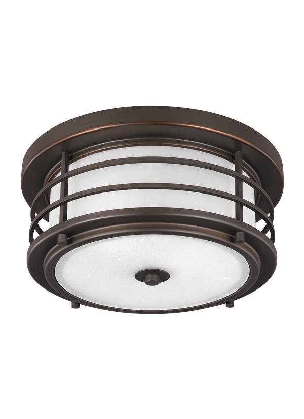 7824452en3 71two light outdoor ceiling flush mountantique bronze aloadofball Gallery
