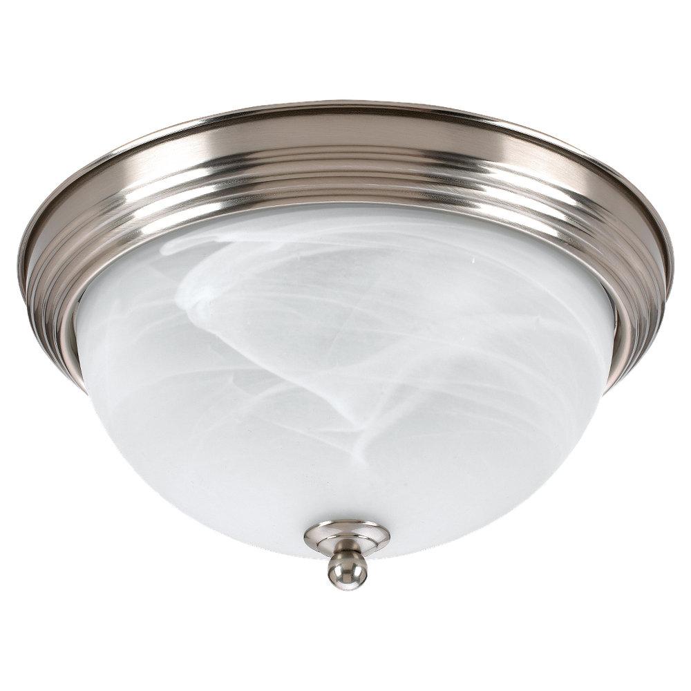 79178ble 962 Three Light Ceiling Flush Mount Brushed Nickel