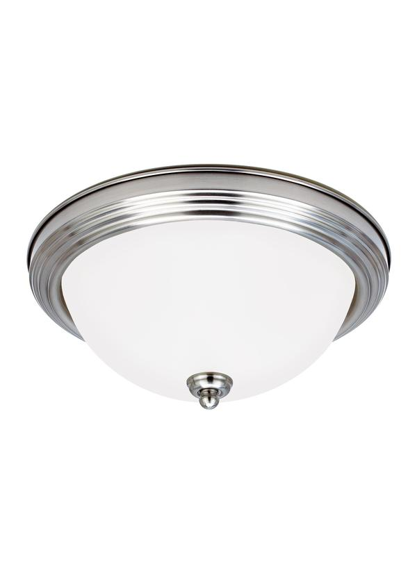 79364BLE-962,Two Light Ceiling Flush Mount,Brushed Nickel