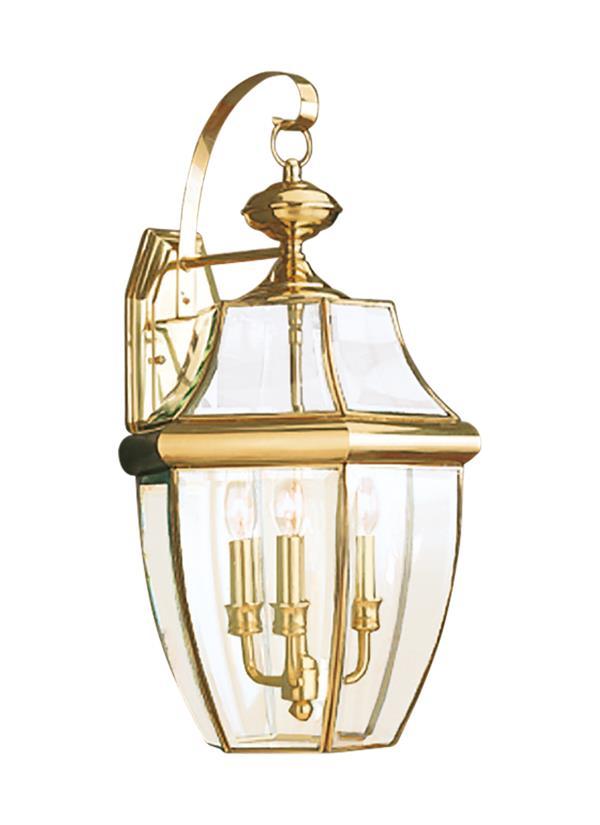 8040 02three light outdoor wall lanternpolished brass workwithnaturefo