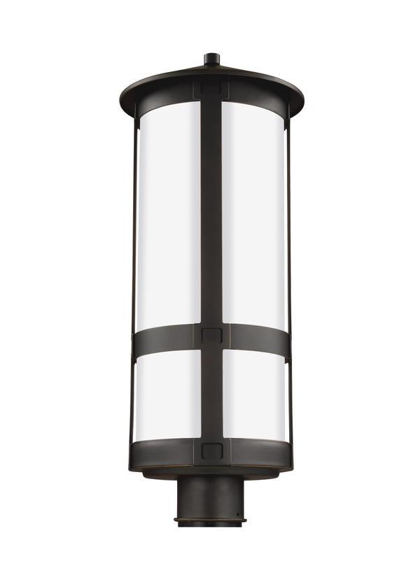 8235901 71one light outdoor post lanternantique bronze sciox Images