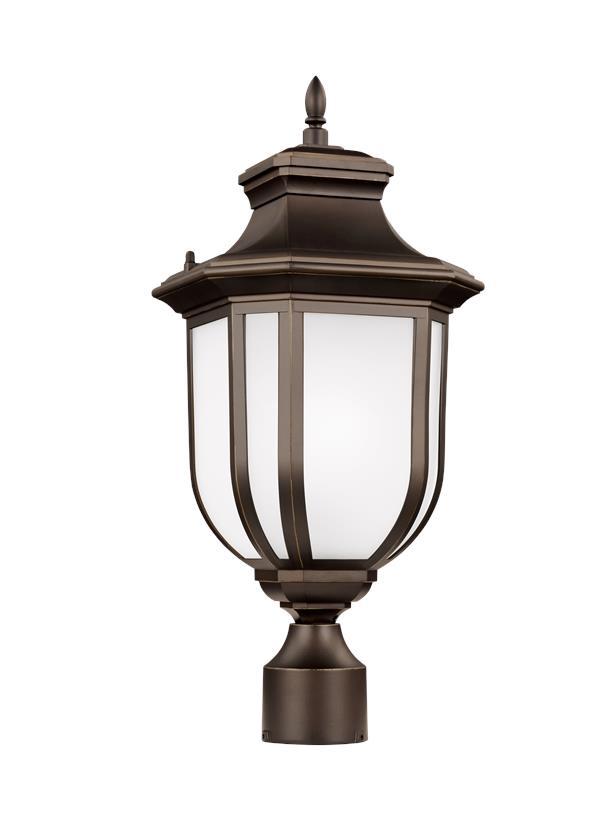 sc 1 st  Seagull Lighting & 8236301EN3-71One Light Outdoor Post LanternAntique Bronze