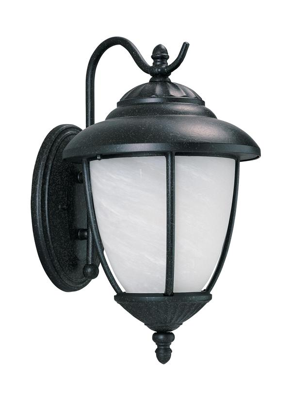 84050-185,One Light Outdoor Wall Lantern,Forged Iron
