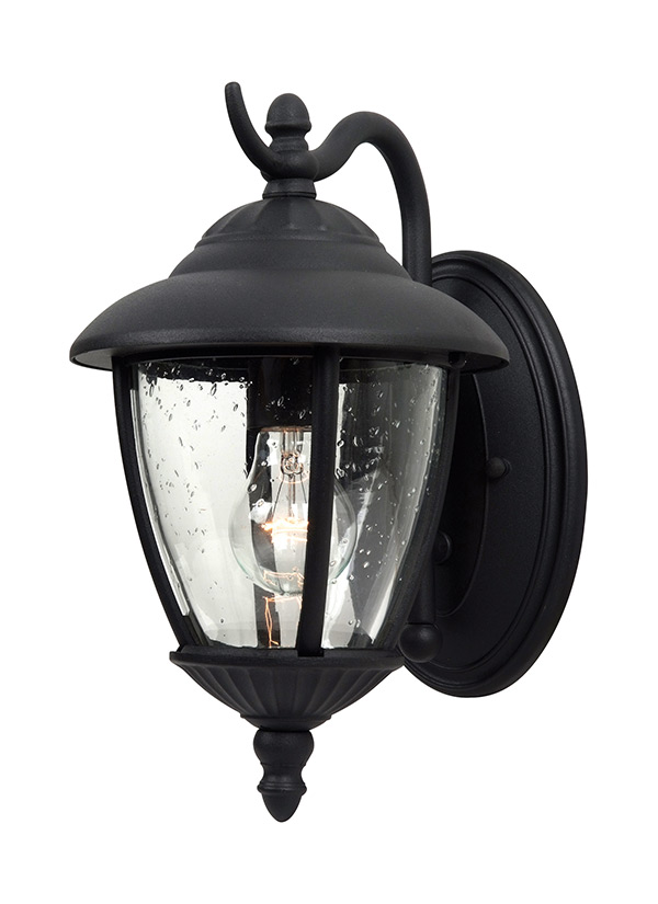 84069 12one light outdoor wall lanternblack aloadofball Image collections