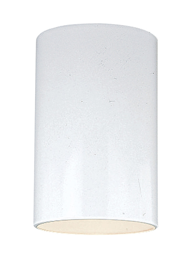8438 15 small one light outdoor ceiling flush mount white