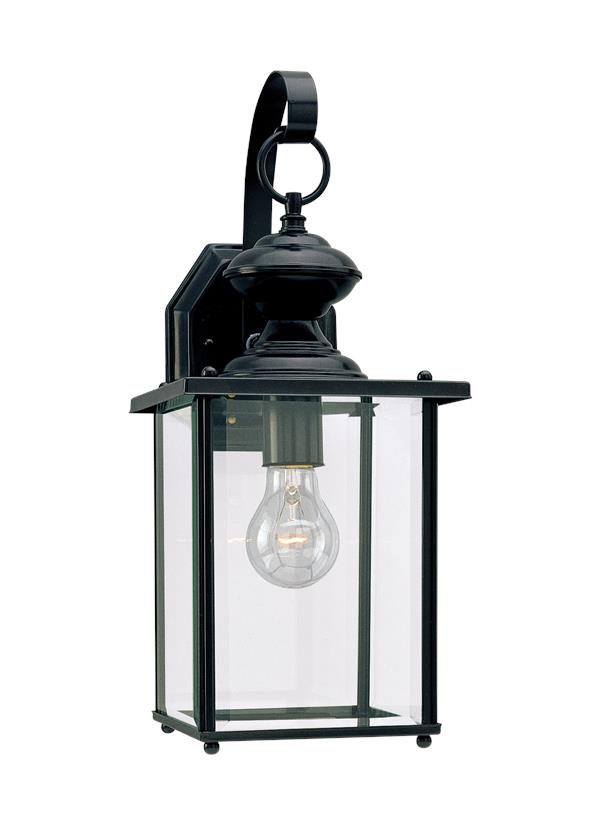 8458 12one light outdoor wall lanternblack antique courtyard outdoor lighting 1