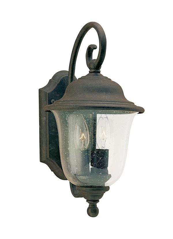 8459 46 Two Light Outdoor Wall Lantern Oxidized Bronze