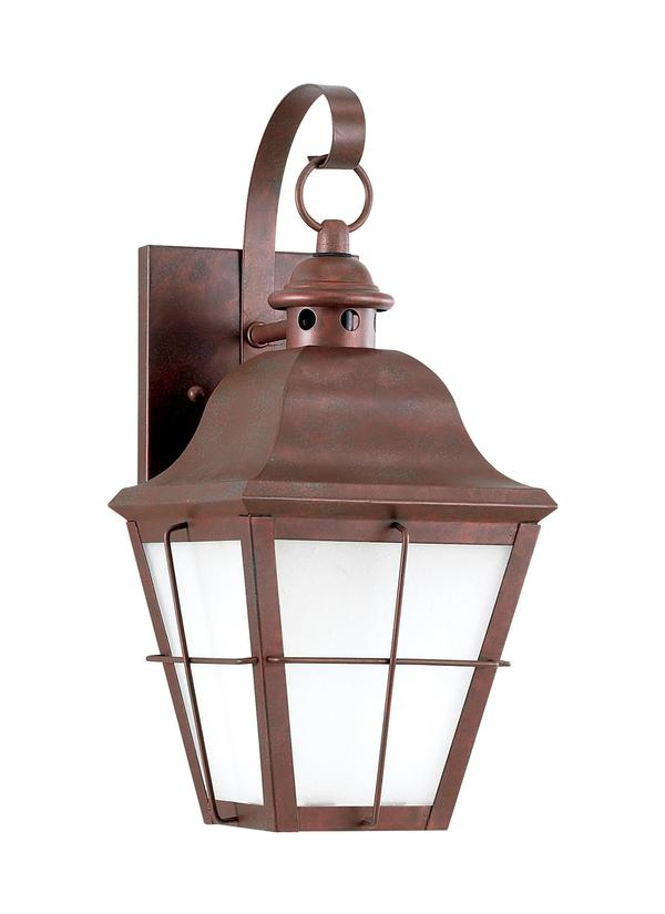 Sea Gull Lighting Two-Light Chatham Colonial Outdoor Wall Lantern 8463-46