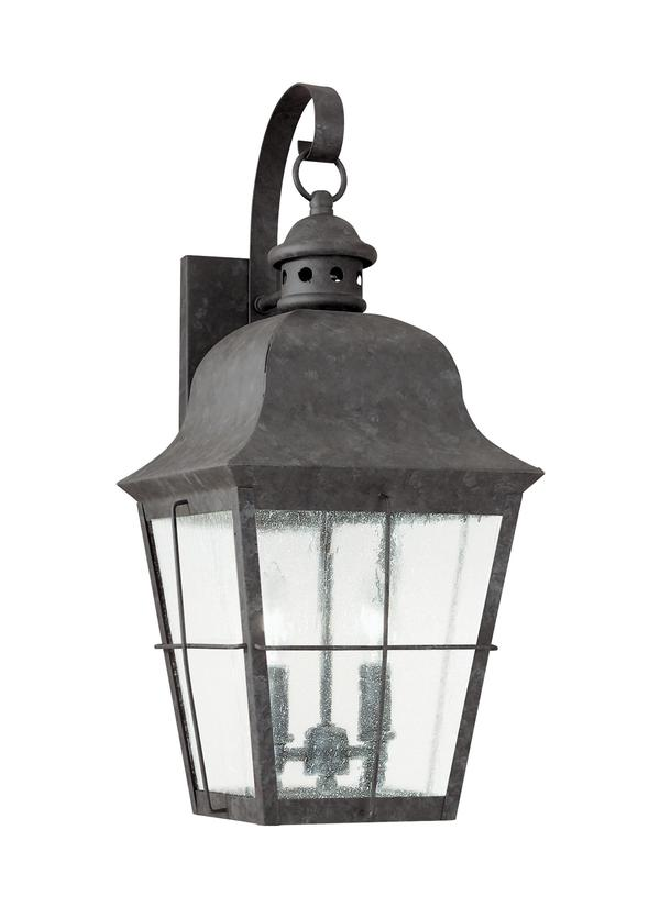 8463 46 Two Light Outdoor Wall Lantern Oxidized Bronze