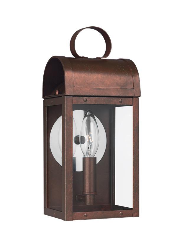 8514801en 44one light outdoor wall lanternsilver aloadofball Choice Image