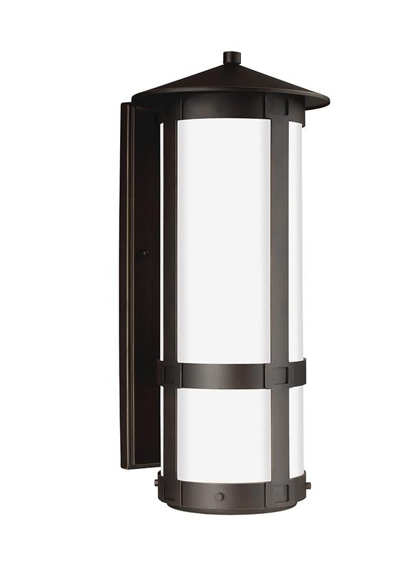 sc 1 st  Seagull Lighting & 8735991S-71Extra Large LED Outdoor Wall LanternAntique Bronze