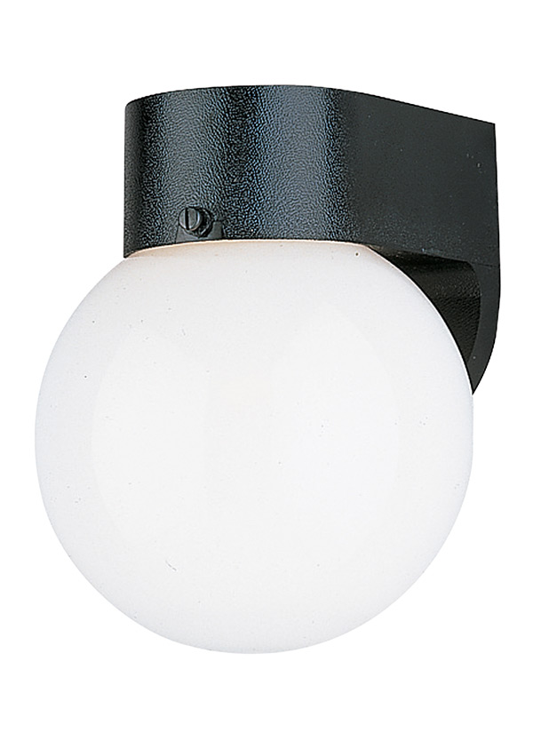 8753 68one light outdoor wall lanternwhite plastic mozeypictures Gallery
