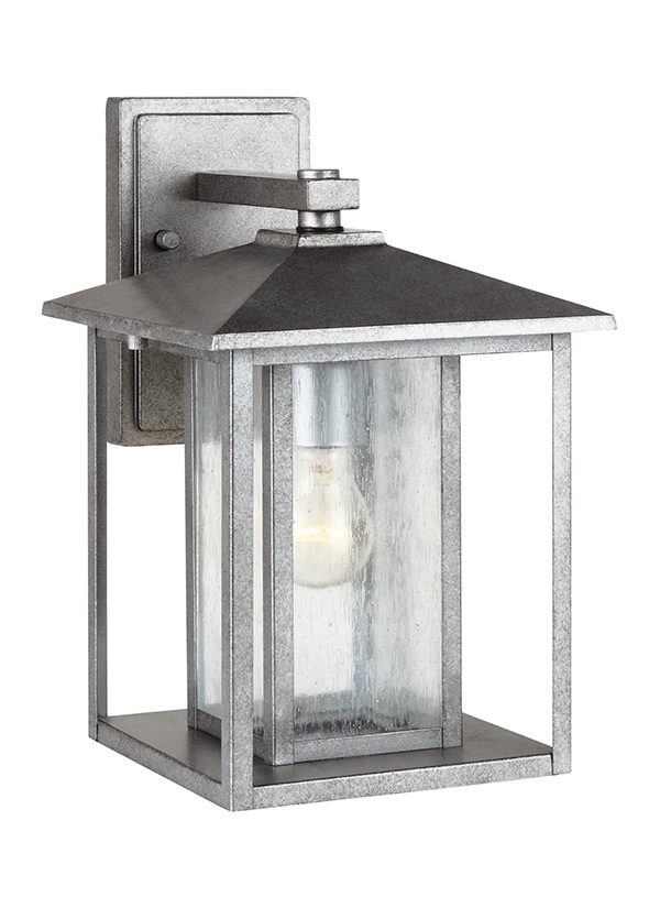 88027 57one light outdoor wall lanternweathered pewter aloadofball Gallery