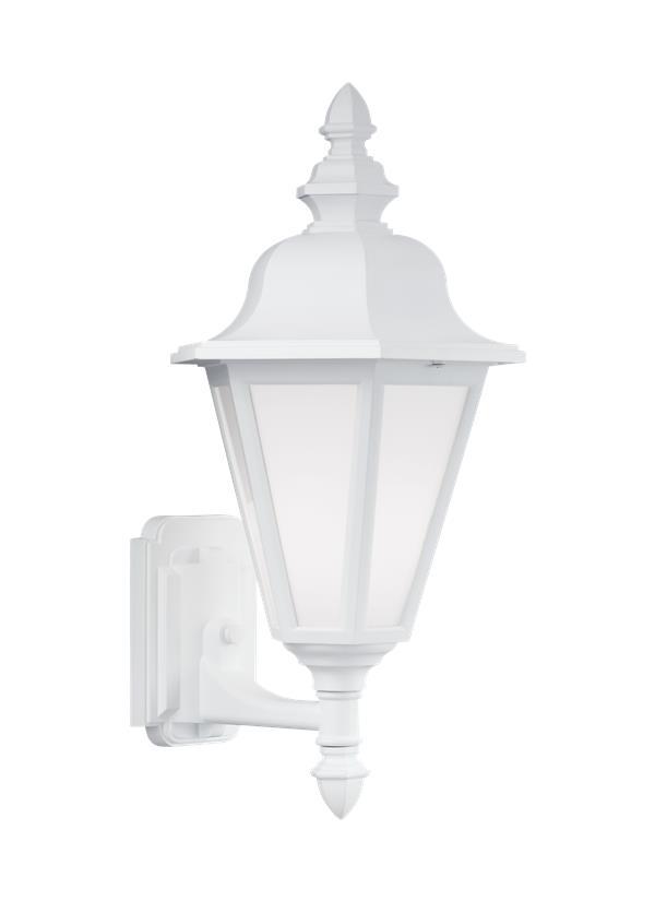 White Outdoor Wall Lantern Part - 50: Seagull Lighting
