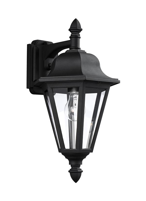 8825 12one light outdoor wall lanternblack aloadofball Gallery