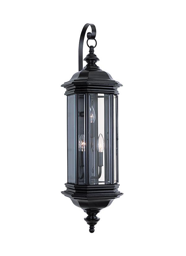 8842 12three light outdoor wall lanternblack workwithnaturefo