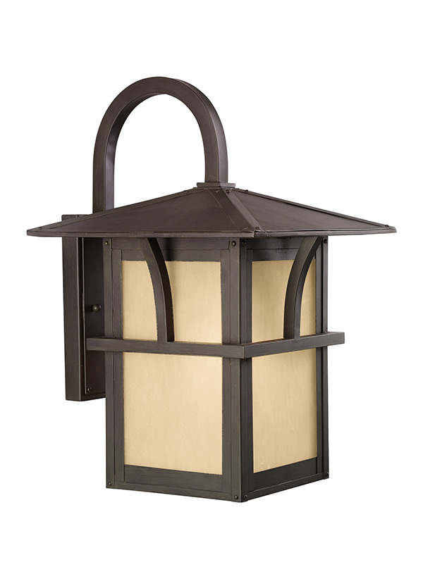 sc 1 st  Seagull Lighting & 8888291S-51Large LED Outdoor Wall LanternStatuary Bronze