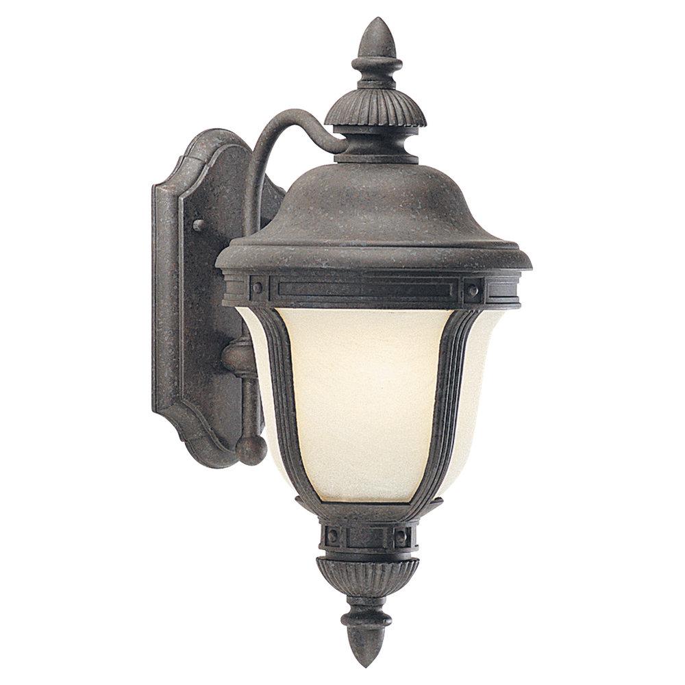 89490BL 746 One Light Outdoor Wall Lantern Oxford Bronze