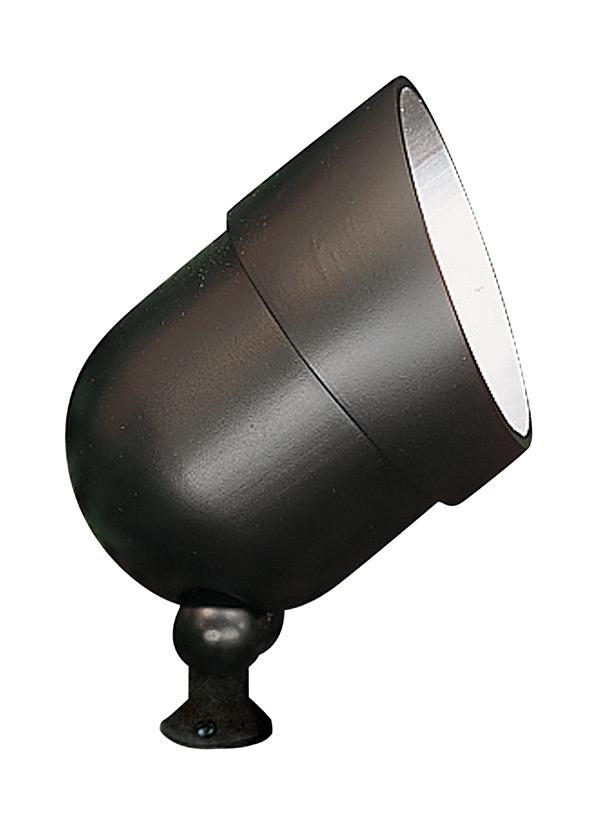 9313 12 120 volt die cast landscape accent light black for Volt electric landscape lighting