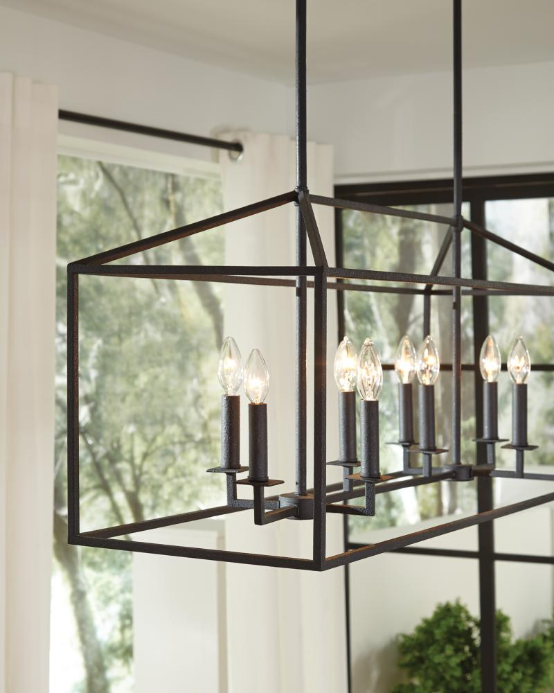 5115008en 782 Large Eight Light Hall Foyer Heirloom Bronze