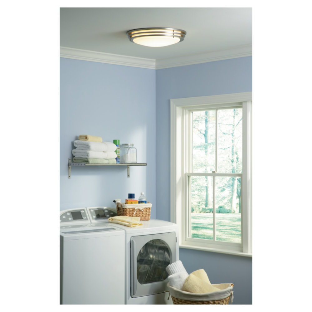 5925191S-962,Medium LED Ceiling Flush Mount,Brushed Nickel