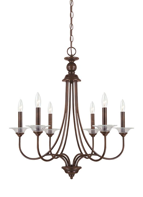 31318 710six light chandelierburnt sienna mozeypictures Gallery