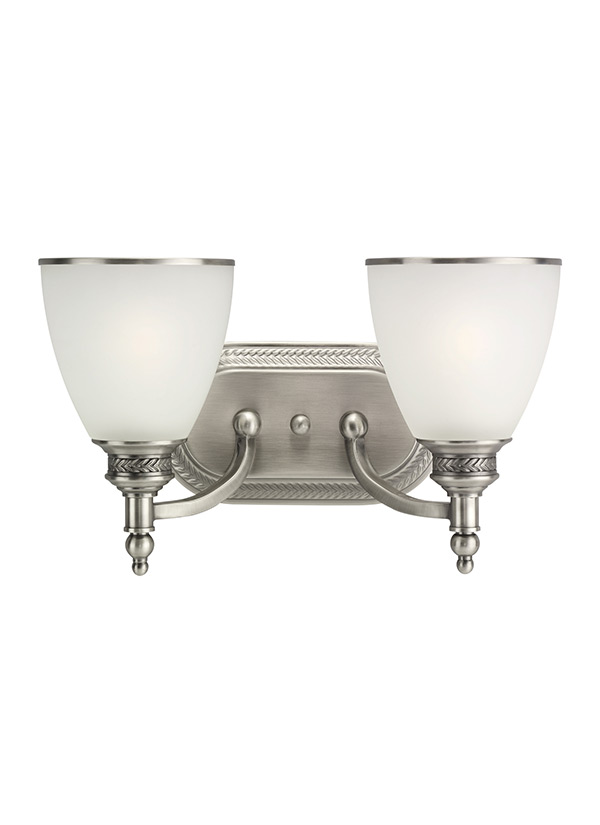 44350-965,Two Light Wall / Bath,Antique Brushed Nickel