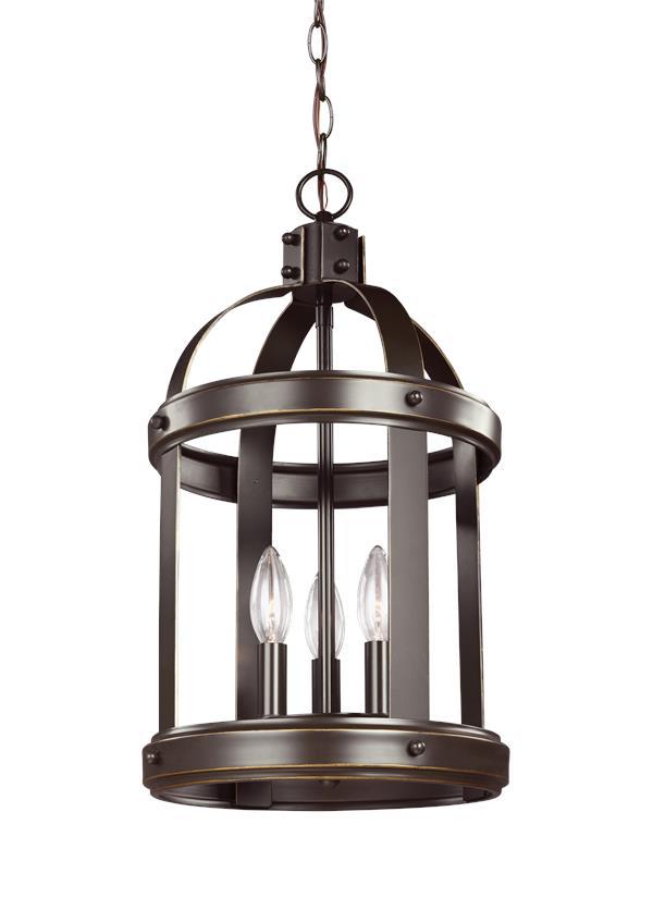 Foyer Lighting Guidelines : En small three light hall foyer heirloom bronze