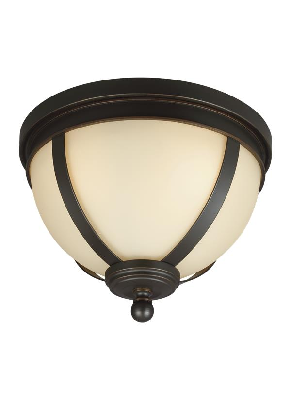 7590403 715 Three Light Ceiling Flush Mount Autumn Bronze