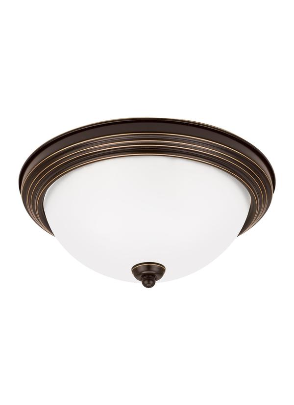 77063-05 Chrome Sea Gull Lighting Ceiling Flush Mount Lighting