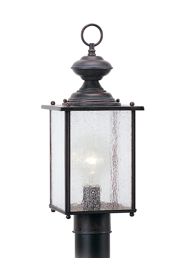 Jamestowne collection one light outdoor post lantern 8286 08 msrp 12796 aloadofball Images