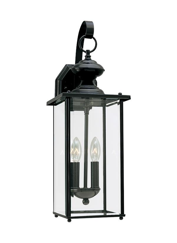 Wall Lantern External : 8468-12,Two Light Outdoor Wall Lantern,Black
