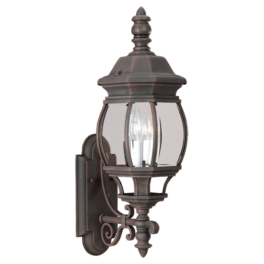 88201 821two light outdoor wall lanterntawny bronze aloadofball