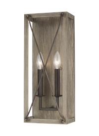Two Light Wall / Bath Sconce