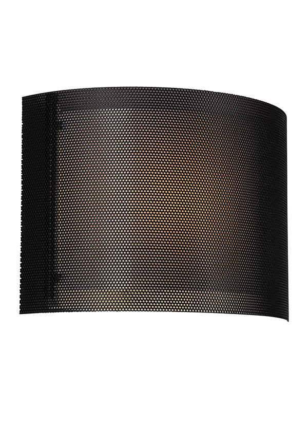 4933291s 12 Led Wall Sconce Black