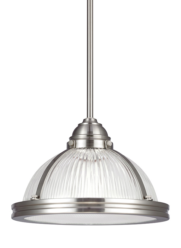 65060 962 One Light Pendant Brushed Nickel