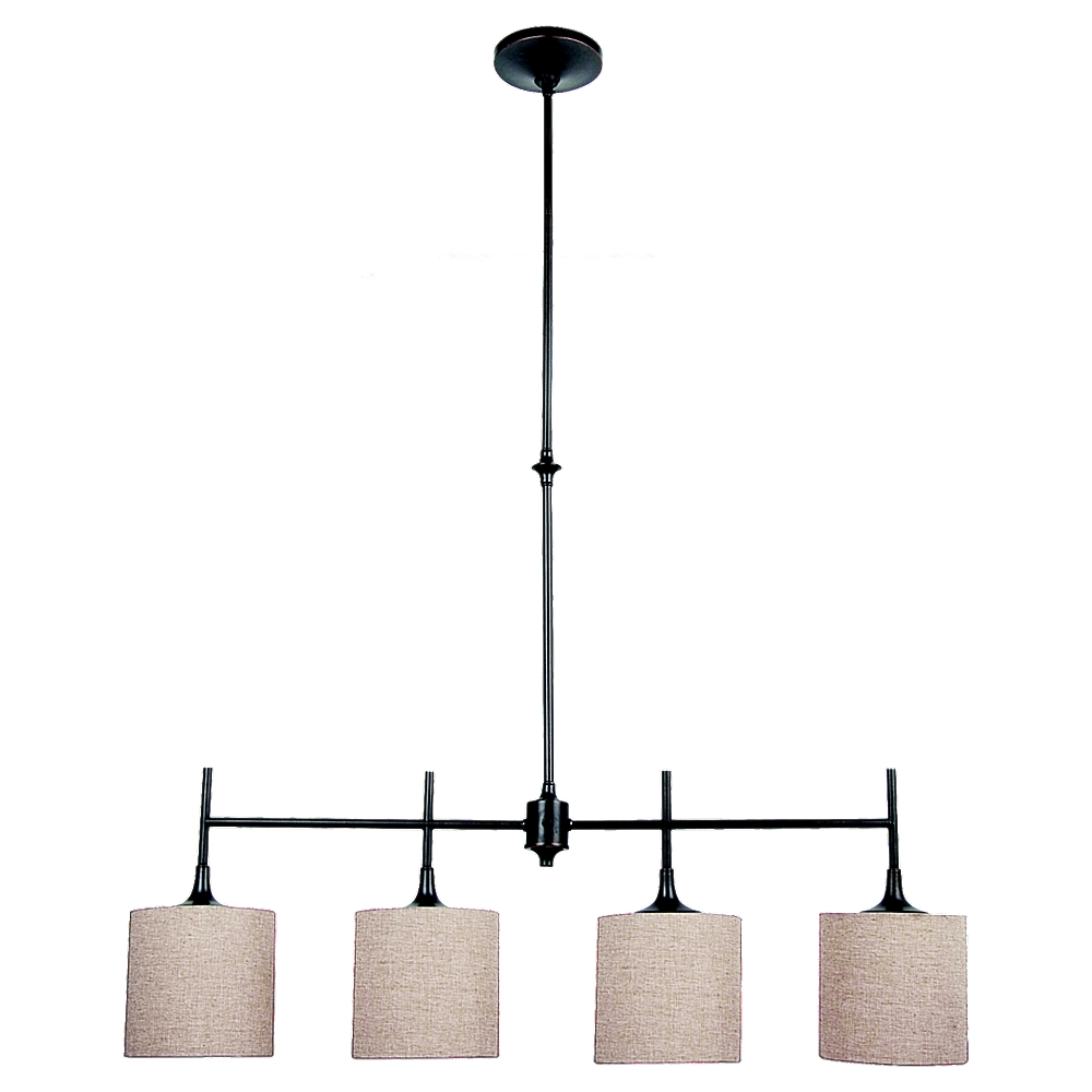 66952 790 Four Light Island Pendant Oil Rubbed Bronze